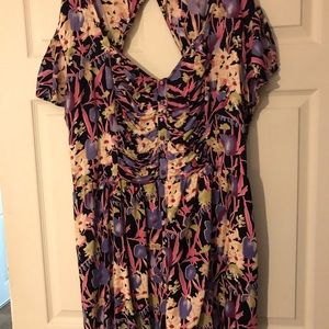 Floral romper. Good condition